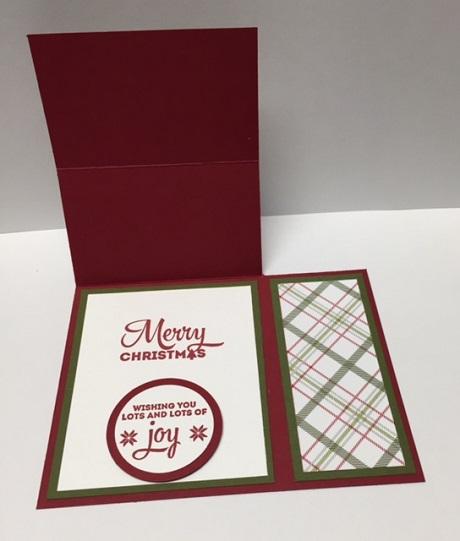 Lots of Joy Card Inside