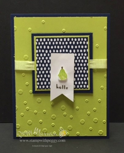 Fruit Basket Stamp Set, Tutti-frutti Designer Paper, Lemon Lime Twist Ribbon, Itty Bitty Fruit Punch Pack