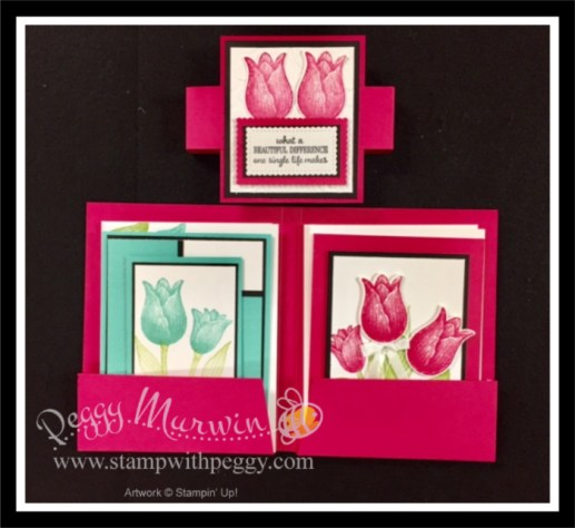 Timeless Tulip Bundle, Timeless Tulips Stamp Set, Tulip Builder Punch, Card Portfolio, Card Set, Spring, Stamp with Peggy