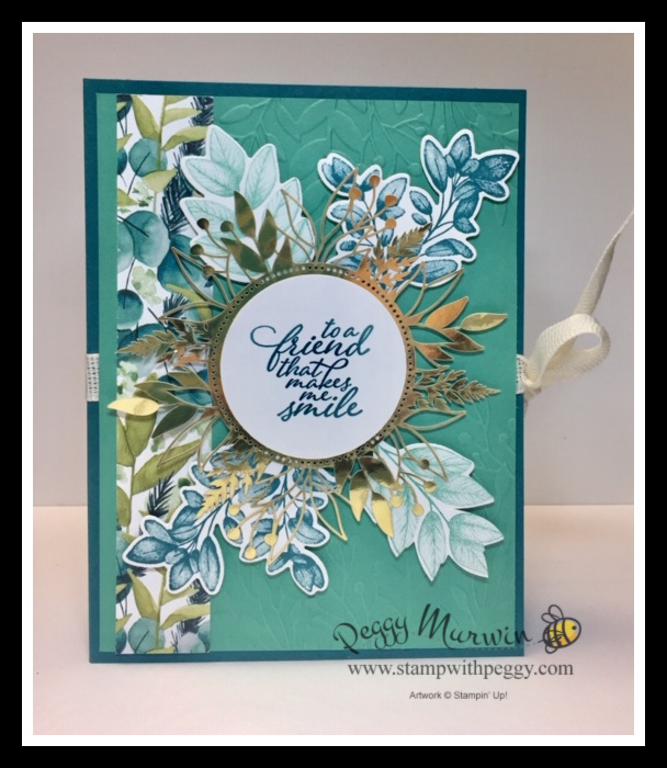 Forever Greenery Card with Portfolio