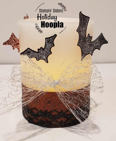 """Magic in This Night Suite, Hallow's Night Magic Stamp Set, Halloween Magic Dies, Magic in This Night Designer Paper, 1 1/2"""" Metallic Mesh Ribbon, Holiday Hoopla, Stamp with Peggy"""