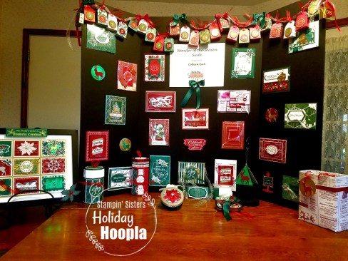 Stampin' Sisters Holiday Hoopla 2020, Wonder of the Season Suite, Christmas, Stamp with Peggy