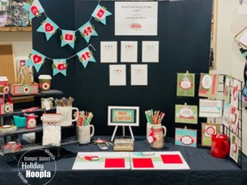 Stampin' Sisters Holiday Hoopla 2020, Heartwarming Hugs Suite, Christmas, Stamp with Peggy