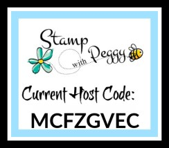 Host Code, September, Stamp with Peggy