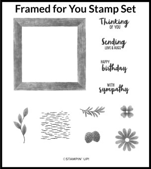 Framed for You Stamp Set, Cabin Fever Stamp Camp in a Box, Stamp with Peggy