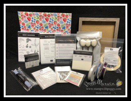 Stampin' Sisters Retreat, Stamp with Peggy