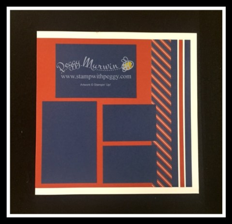 Masculine Scrapbook Pages, Father's Day, Scrap & Go, Stamp with Peggy