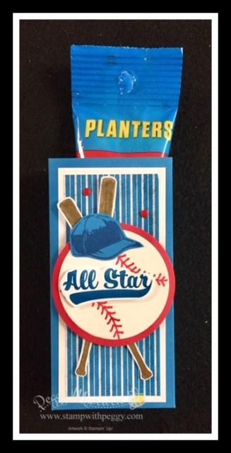 Batter Up Paper Pumpkin Kit, Baseball, Treat Holders, Framed Art, Scrapbook Page, Stamp with Peggy