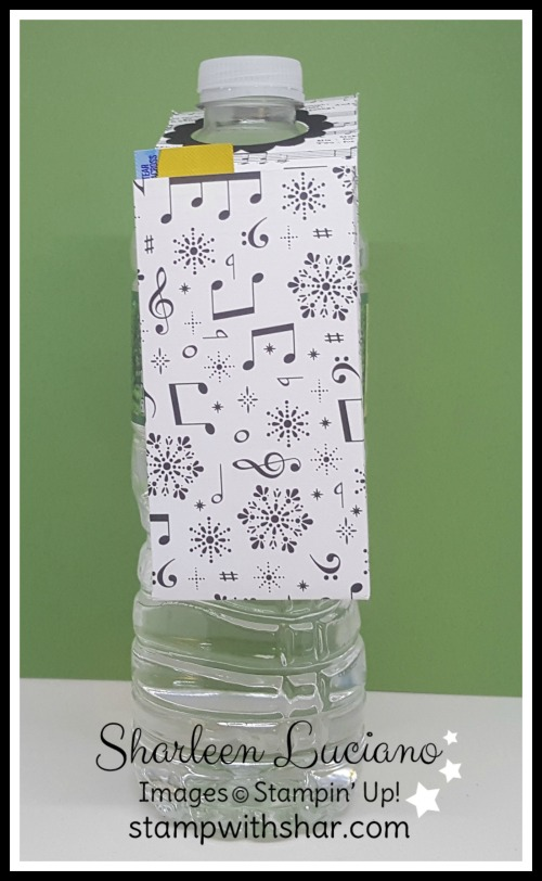 Water Bottle Pouch Stampin Up