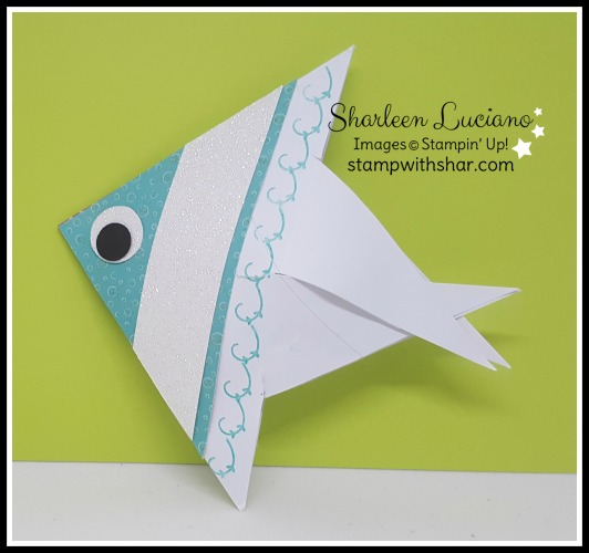 Fish Treat Pouch Stampin' Up!