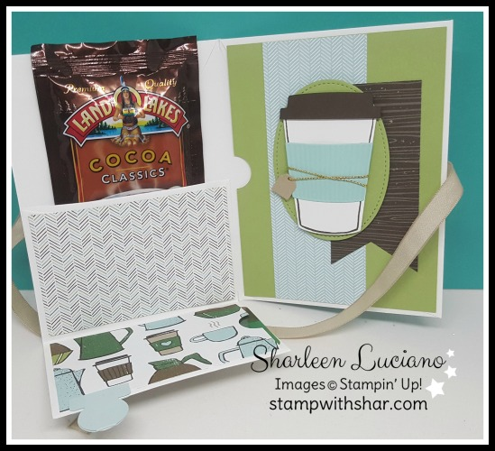 Facebook Live Rewind - Envelope Pouch Stampin' Up!