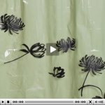 Way cool – Shower curtain project – video