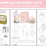 New Easter Stamp sets – Just released!