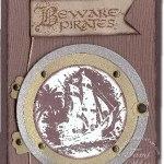 Beware Pirates Porthole
