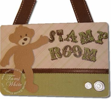 Build-a-bear Workshop nameplate hanger