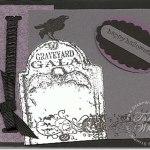 Graveyard Gala Halloween Card