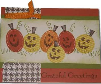 Pumpkin Patch Stampin Up