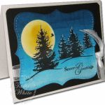 VIDEO TUTORIAL: Brayered Night Sky Holiday Card