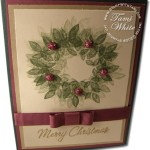 VIDEO TUTORIAL: Christmas Wreath & Altered Holly