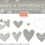 Stampin Up Haitian Disaster Relief