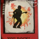 You rock! Extreme Guitar Card