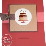 Bitty Birthday Fun Fold Card