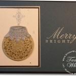 VIDEO TUTORIAL: Artistic Etchings Ornament