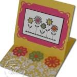 Hello Blossom Easel Card