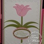 Tulip Punch card