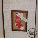 Stitched Stockings Card