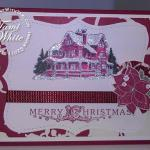 Christmas Lodge Card Part 3