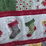 Susan's stocking quilt