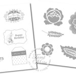 Free stamp set give-away and ideas