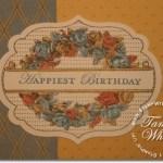Apothecary Art Birthday Card