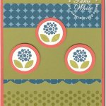 Bright Blossoms & Summer Smooches Card II