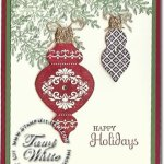 Ornament Keepsakes Card
