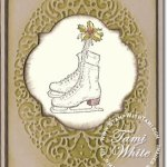 Winter Memories Ice Skates Card