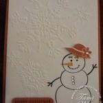 PROJECT: Stylin' Snowfolk Card