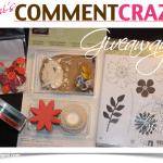 WIN! Comment Craze Giveaway