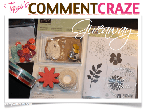tamis stampin up comment craze