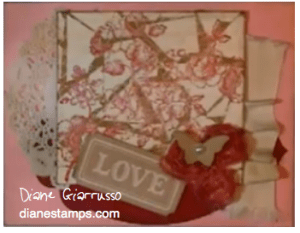 Stampin' Up! distress tool and mosiac collage video