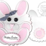 CARD: Happy Easter Everybunny Punch Fun