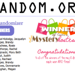 WINNERS: May Mystery Hostess – 10 Winners!