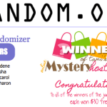 "WINNERS: June 10 ""Mystery Hostess"" Drawing for Free Stamps"