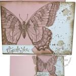 VIDEO: Grunge Swallowtail Surprise Card