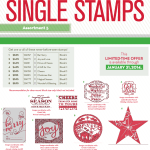 NEW: Holiday Single Stamps