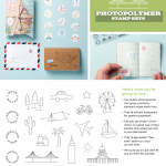 NEW: Clear Photopolymer Stamp Sets – 2 Travel Sets