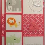 CARD: Zoo Babies – Baby Card