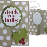 CARD: Christmas Messages Flip Card