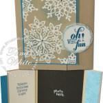 CARD: Festive Flurry Holiday Photo Card